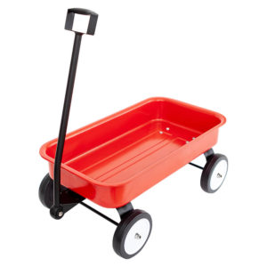 Stow & Go Red Wagon Toy Logical