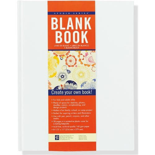 Studio Series Blank Book