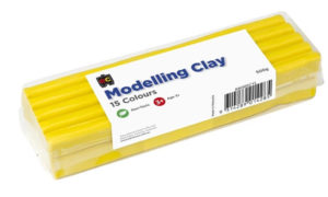 Yellow Modelling Clay 500g