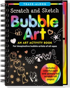 Scratch & Sketch Bubble Art Book