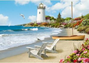 Ravensburger Sunlit Shores XL Format Puzzle 300pc