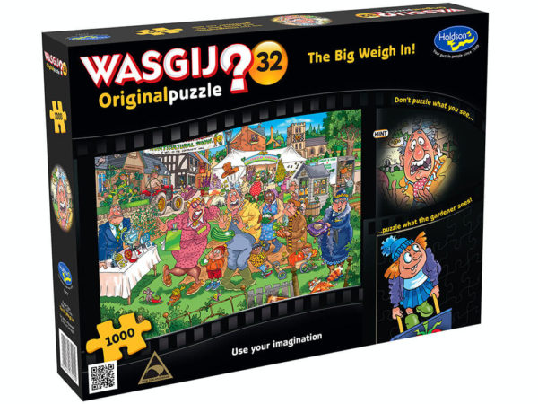 Wasgij? Original 32 The Big Weigh In Puzzle 1000pc