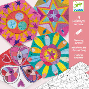 Djeco DJ9655 Colouring Surprise Constellation