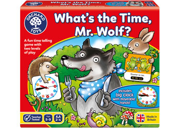 Orchard Toys What Time Is It Mr Wolf
