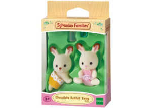 SF 5080 Chocolate Rabbit Twins
