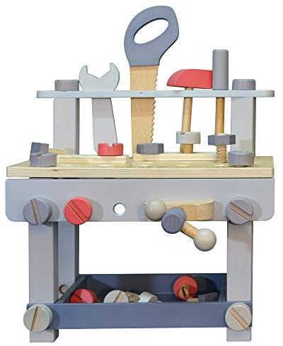 EverEarth Large Work Bench Pastel Lifestyle Collection