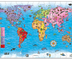 Orchard Toys World Map Puzzle 150pc