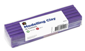 Purple Modelling Clay 500g