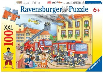 Ravensburger Fire Brigade Puzzle 100 Pc