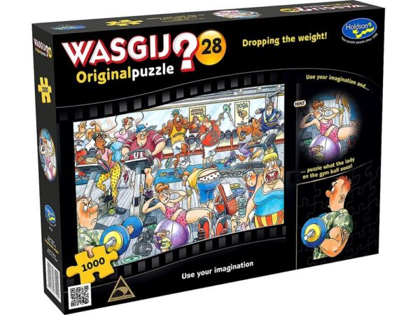 Wasgij? Original 28 Dropping The Weight Puzzle