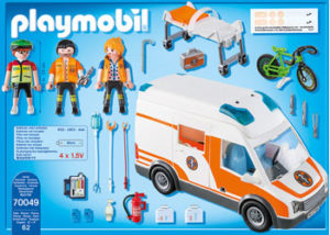 Playmobil 70049 Ambulance with Flashing Lights