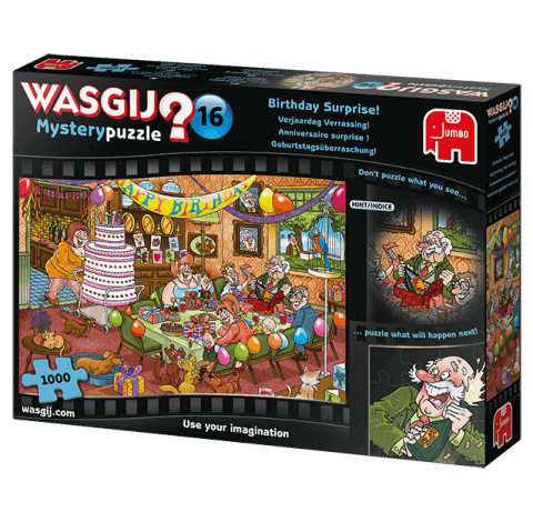 Wasjig? Mystery 16 Birthday Surprise Puzzle 1000pc