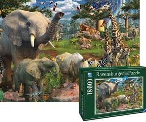 Ravensburger At the Waterhole Puzzle 18000 pc