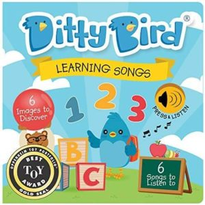 Ditty Bird Learning Songs Book