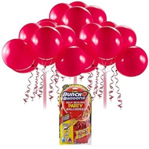 Bunch O Balloons Self Sealing Party Balloons Red