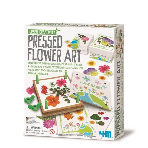 4M Pressed Flower Art Green Science