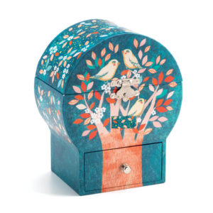 Djeco DJ6590 Poetic Tree with Singing Bird Musical Box