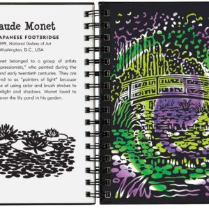 Scratch & Sketch Fine Art Trace-Along Book