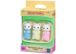 SF 5337 Marshmallow Mouse Triplets