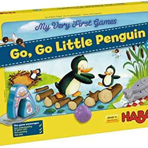 HABA Go Go Little Penguin, My Very First Game 2+