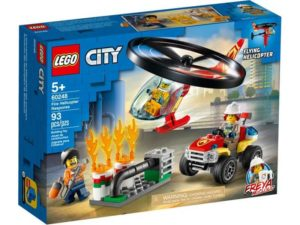 LEGO City 60248 Fire Rescue Helicopter Response