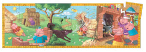 Djeco DJ7212 The 3 Little Pigs Puzzle