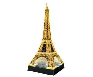 Ravensburger Eiffel Tower at Night 3D Puzzle 216 pc