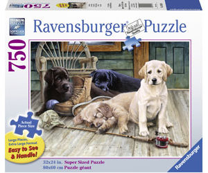 Ravensburger Ruff Day XL Format Puzzle 750pc