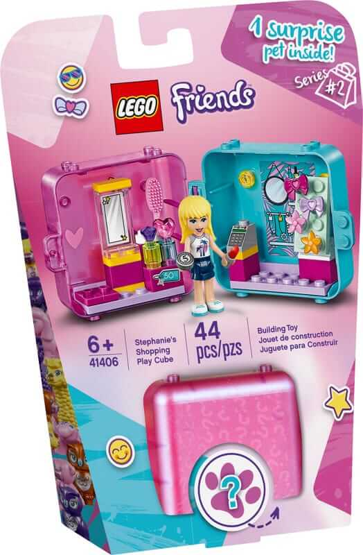 LEGO Friends 41406 Stephanie's Shopping Play Cube