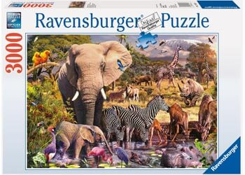 Ravensburger African Animal Puzzle 3000pc