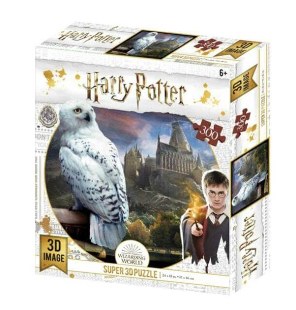 Hedwig Harry Potter 3D Prime Puzzle 300pc