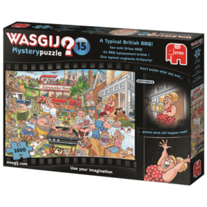 Wasgij? Mystery 15 Typical British BBQ Puzzle