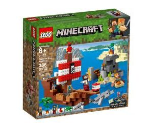 LEGO Minecraft™ 21152 The Pirate Ship Adventure