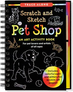 Scratch & Sketch Pet Shop Book