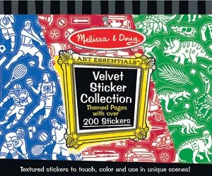 M&D Velvet Stickers Boy