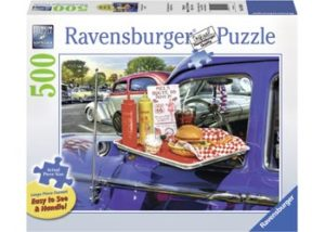Ravensburger Drive Thru Route Large Format Puzzle 500pc