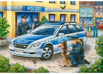 Ravensburger Police and Firefighters Puzzle 2x12 pc