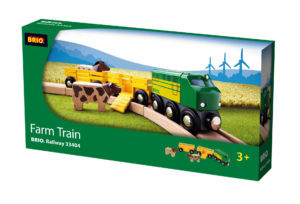 Brio 33304 Wooden Railway Farm Train