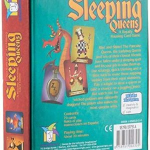 Gamewright Sleeping Queens Card Game