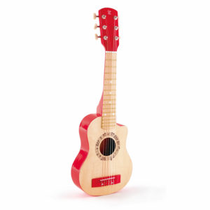 Hape Red Flame Guitar