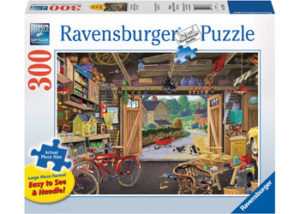 Ravensburger Grandpa's Garage XL Format Puzzle 300 pc