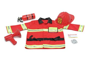 M&D Fire Chief Play Costume Set