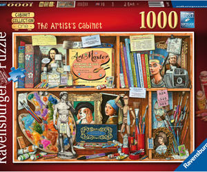 Ravensburger The Artist's Cabinet Puzzle 1000pc