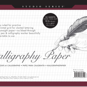 Studio Series Calligraphy Paper 50 140-gsm Sheets