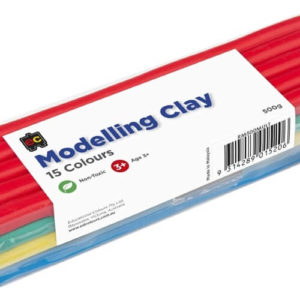 Multicoloured Modelling Clay 500g