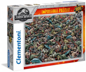 Clementoni Jurassic World Impossible Puzzle 1000pcs