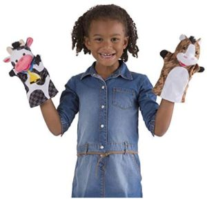M&D Hand Puppets Farm Friends
