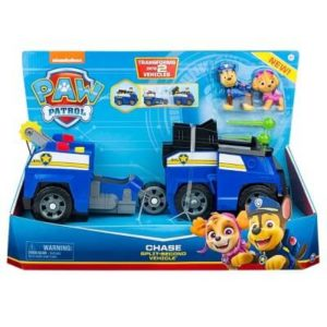 Paw Patrol Chase Transforming Split-Second Vehicle