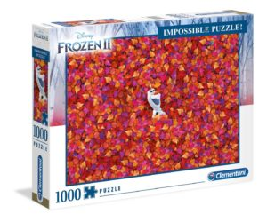 Clementoni Disney Frozen 2 Impossible 1000pc Puzzle