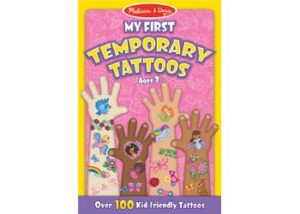 M&D My First Temporary Tattoos Girl